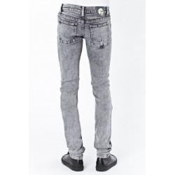 PANTALON NARROW HOLE GREY CHEAP MONDAY