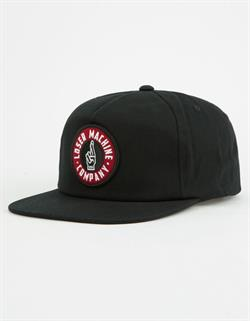 GORRA LOSER MACHINE GOOD LUCK SNAPBACK BLACK