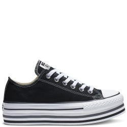 ZAPATILLAS CONVERSE CTAS EVA LIFT OX BLACK-WHITE-THUNDER