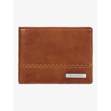 CARTERA QUIKSILVER STITCHY 2 BROWN