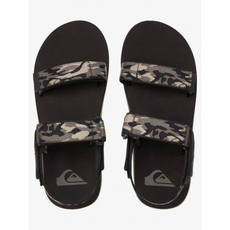 SANDALIAS QUIKSILVER MONKEY CAGED GREEN-BLACK-GREEN