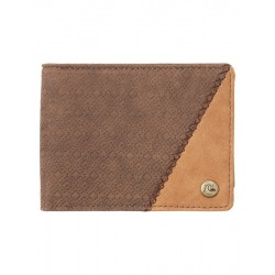 CARTERA QUIKSILVER MOTIONS CHOCOLATE BROWN