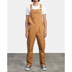 MONO RVCA CHAINMAIL OVERALL CAMEL
