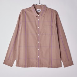 CAMISA OBEY DYLAN WOVEN PURPLE MULTI